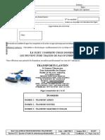 Bac Professionnel Transport 2014 Sujet Lanten