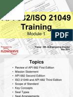 API 682 3rd for Training