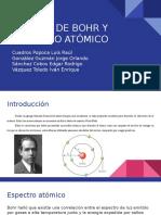 Modelo de Bohr y Espectro Atómico