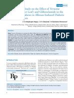 Antidiabetes Glibenclamid v.amygdalina