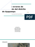 Informe Distrito de Azapampa Diapos.