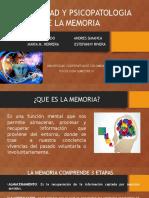 3. Normalidad y Psicopatologia de La Memoria