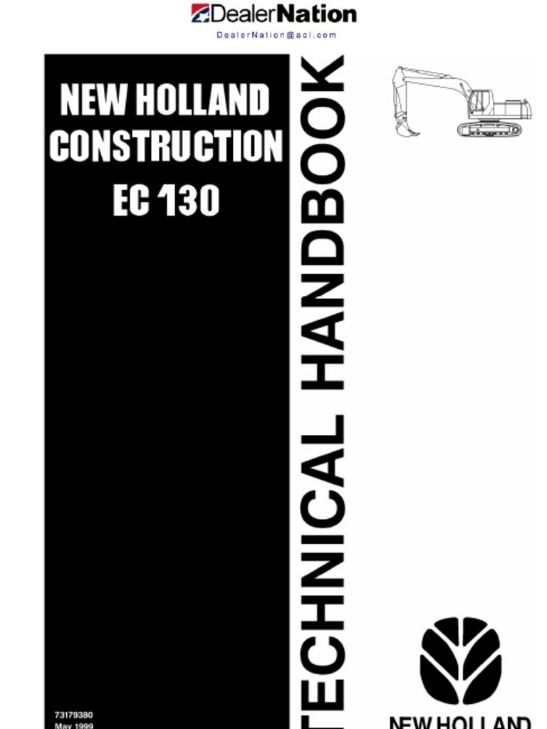 New Holland Ec40 Excavator Repair Service Workshop Manual.pdf ...