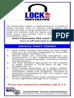 DPD Lock It Up Handout