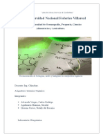 Informe reconocimiento de compuestos organicos