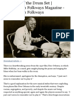 The Birth of the Drum Set | Smithsonian Folkways Magazine - Smithsonian Folkways