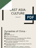 East Asia Culture