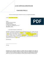 Modelo de Carta de Acreditacion 1-15