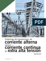transmision en cc para alta tension