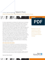 The Shrinking Talent Pool