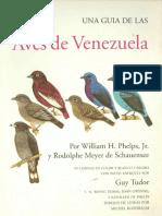Aves de Venezuela Una Guia de Las W H Phelps