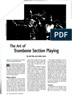 the art of trombone