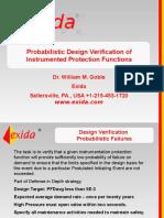 3 GOBLE PRESENTATION 3 Probabilistic Design Verification