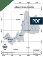 Cuenca y Red de Drenaje Con Estaciones