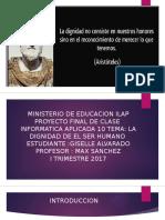 Proyecto Final de Aplicada 10 Giselle Alvarado