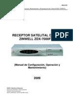 Manual Del Receptor Zinwel V
