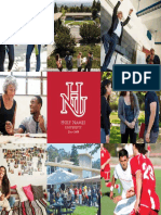 HNU Travel Brochure 2017