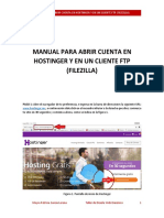 Manual_hostinger y Filezilla 3