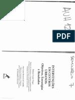 VARGAS, Heliana Comin, CASTILHO, Ana Luisa Howard de (Orgs.). Intervenções Em Centros Urbanos Objetivos, Estratégias e Resultados. Barueri, SP Manole, 200 (1)