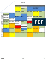 master schedule planning 2016