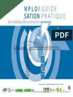 Guide Réemploi_réutilisation Des Matériaux de Construction