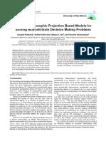 Bipolar Neutrosophic Projection Based Mo
