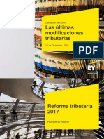 Modificaciones Tributarias 2017 Ey