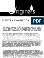 Written Evaluation