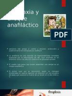 Anafilaxia y Choque Anafiláctico