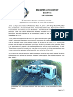 NTSB Preliminary Report on Uvalde County Bus Crash