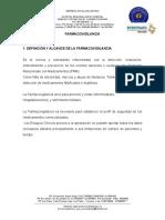 4°programa de farmacovigilancia y tecnovigilancia