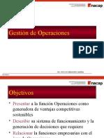 Gestion y Administracion de Operaciones