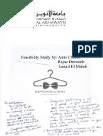 Feasibility IronyourClothes Feedback