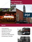 Proposed Broadway Streetscape - 2014