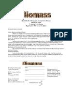 Biomass Flyer
