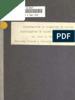 (1922) Distillation of Hardwoods in Canada
