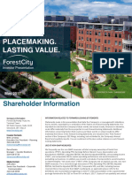 May 2017 Investor Presentation Forest City Realty Trust