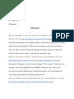 bibliography salina williams - google docs