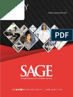 Dewey Today SAGE Edición Especial 2016 - 2017
