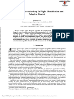 2010 - Practical Aeroservoelasticity in-Flight Identification and Adaptive Control