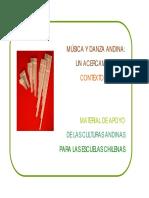 Musica Andina en El Contexto Escolar. Miguel Ibarra. 2009
