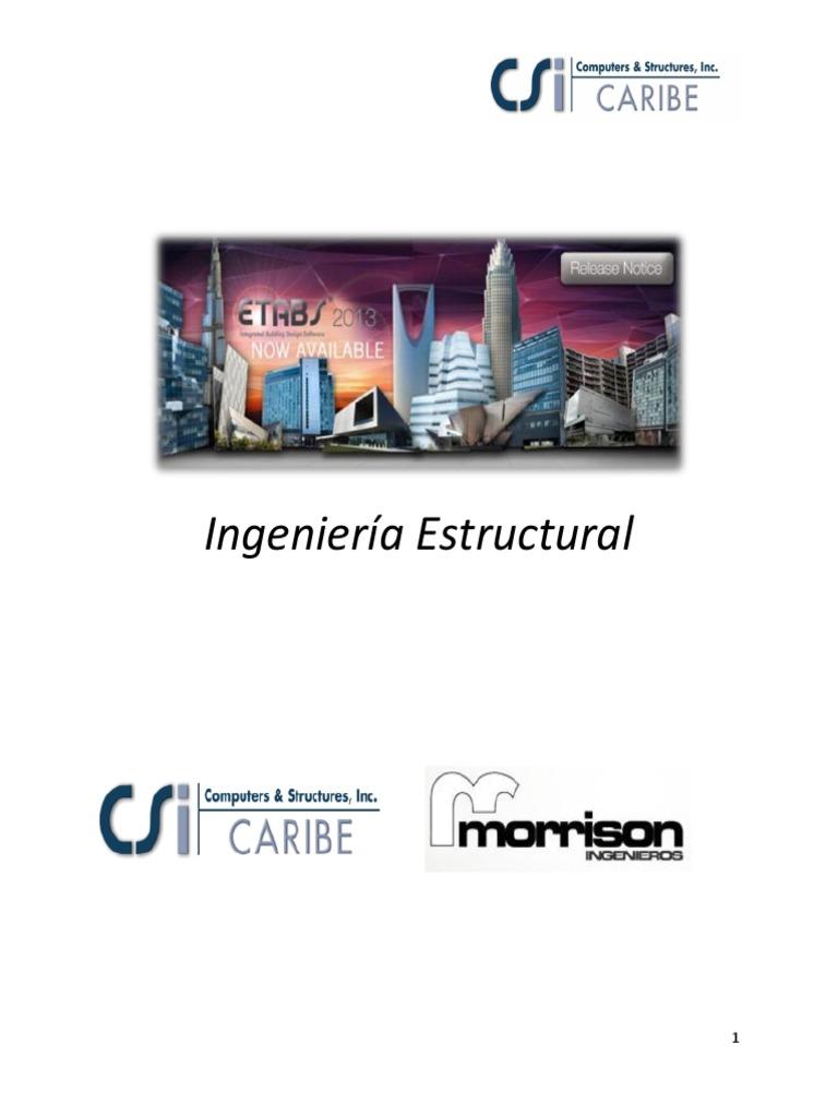 manual etabs scientific method mass On ingenieria estructural pdf