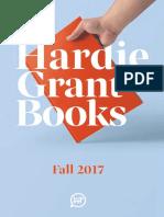 Hardie Grant Books Fall 2017 Catalog