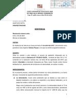 7ma. Sala Laboral de la Corte Superior de Justicia de Lima Ordena Reposicion de Rosa Juana Coyllo (SITOBUR)