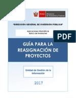 Guia Para Reasignacion de Pip 2017
