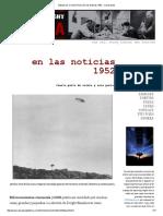 Sábado Por La Noche Uforia_ en Las Noticias 1952 - Cuarta Parte