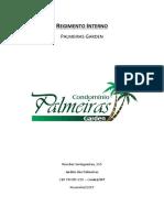 Regimento Interno - Palmeiras