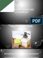 chemistry signature assinment