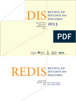 REDIS, Revista de Estudos Do Discurso
