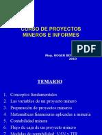 Proyectos e Informes Mineros